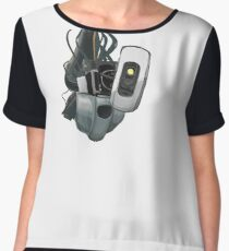 GLaDOS Portal 1 and 2 Women's Chiffon Top