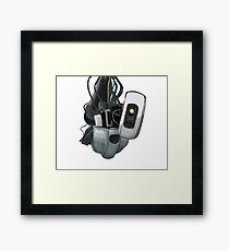 GLaDOS Portal 1 and 2 Framed Print