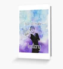 Viktor - Born to Make History Greeting Card