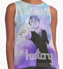 Viktor - Born to Make History Contrast Tank