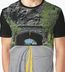 Tunnel Under The Breakneck Point By Hudson River | Cold Spring, New York Graphic T-Shirt