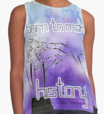 Yuri's- Born to Make History Contrast Tank