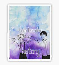 Yuri's- Born to Make History Sticker
