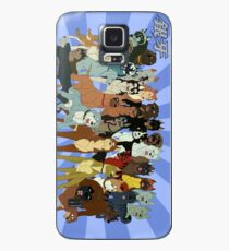 Ginga Nagareboshi Gin group Case/Skin for Samsung Galaxy