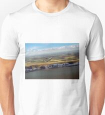 Lancaster over the white cliffs in Kent T-Shirt