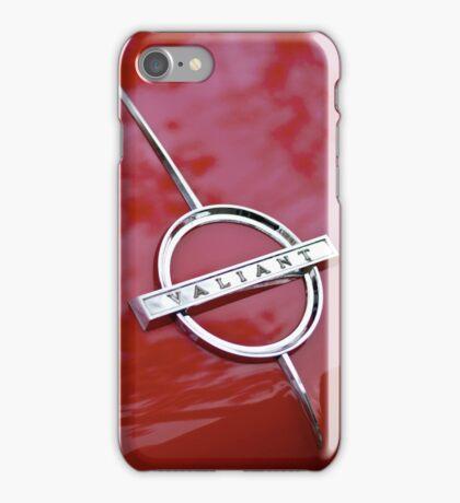 Red Valiant iPhone Case/Skin
