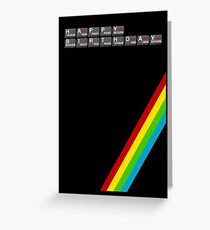 Sinclair Spectrum Birthday Card Greeting Card