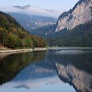 Autumn in Montriond by Patrick Morand
