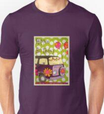 Happy Hippie Birthday Unisex T-Shirt