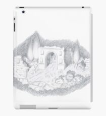 Flying island iPad Case/Skin