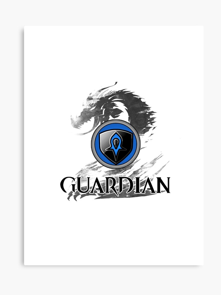 Guardian - Guild Wars 2 | Canvas Print
