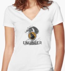 Engineer - Guild Wars 2 Women's Fitted V-Neck T-Shirt