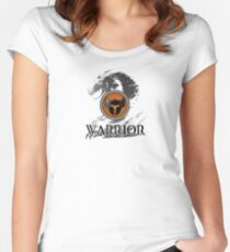 Warrior - Guild Wars 2 Women's Fitted Scoop T-Shirt