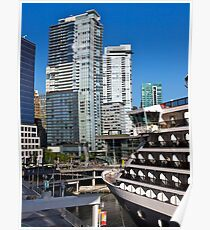 Vancouver City, Canada Place, Canada, 2012. Poster