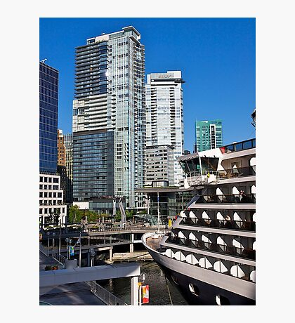 Vancouver City, Canada Place, Canada, 2012. Photographic Print