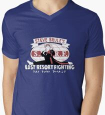 Steve Brule's Last Resort Fighting Men's V-Neck T-Shirt