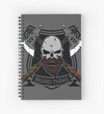 The Beard Thing Spiral Notebook