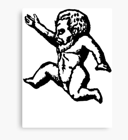 Baby Demon Canvas Print