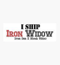 I Ship Iron Widow Photographic Print