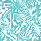Leaves of palm tree by Lusy Rozumna
