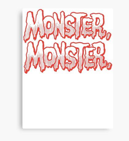 Monster Monster Canvas Print