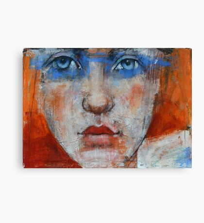 another blue eyed soul Canvas Print