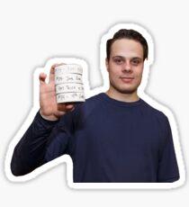 Auston Matthews Maple Leafs Sticker Sticker