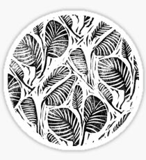 Jungle - Tropical leaves Sticker