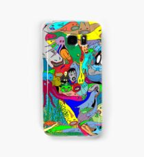 Aquatic life  Samsung Galaxy Case/Skin