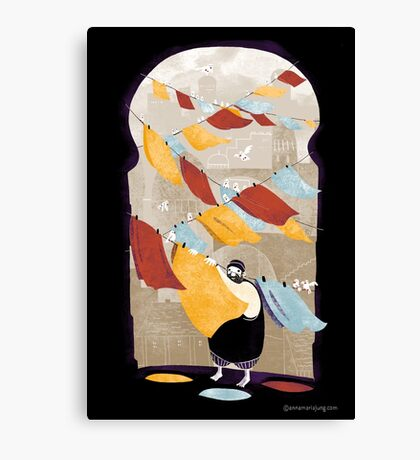 The Dyer Canvas Print