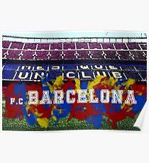F.C. Barcelona - Camp Nou Poster