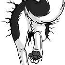 STUCK Husky Black - BACK by tanidareal