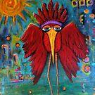 Warrior Bird by Vickie  Scarlett-Fisher