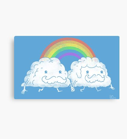 Gay Clouds Canvas Print