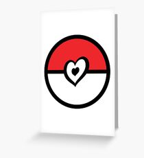 Eurovision pokeball Greeting Card