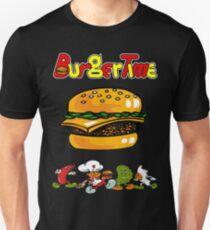 Burger Time Retro  Unisex T-Shirt