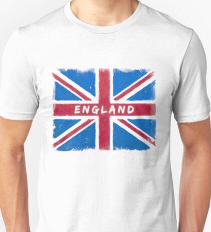 England Vintage Union Jack Flag T-Shirt