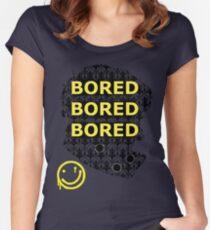 Sherlock BORED Women's Fitted Scoop T-Shirt