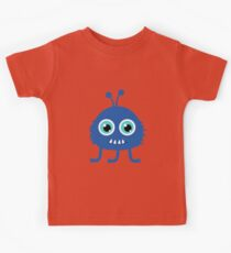 Cute and funny cartoon monster Kids Tee