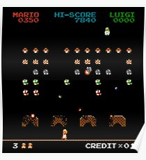 Mario Invaders Poster