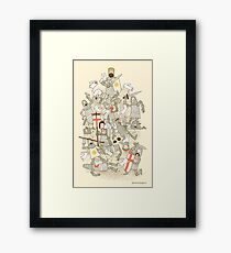 Bad Tempered Rodents Framed Print