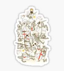 Bad Tempered Rodents Sticker