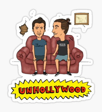 Unhollywood 3 Sticker