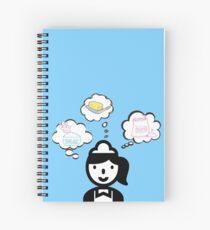 Waitress Sugar Butter Flour Spiral Notebook