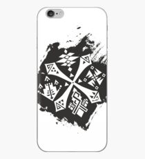 Guild Hunters Logo Splat iPhone Case
