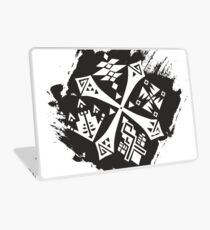 Guild Hunters Logo Splat Laptop Skin
