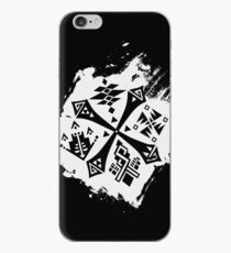 Guild Hunters Logo Splat White iPhone Case