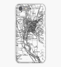 Vintage Map of Cairo Egypt (1911) iPhone Case/Skin