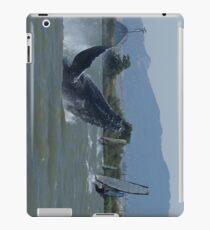 Humpback Whale Breaching by Windsurfers iPad-Hülle & Klebefolie