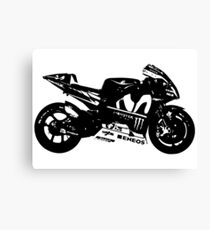 Yamaha YZR-M1 MotoGP Bike Canvas Print